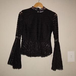Black NSR blouse